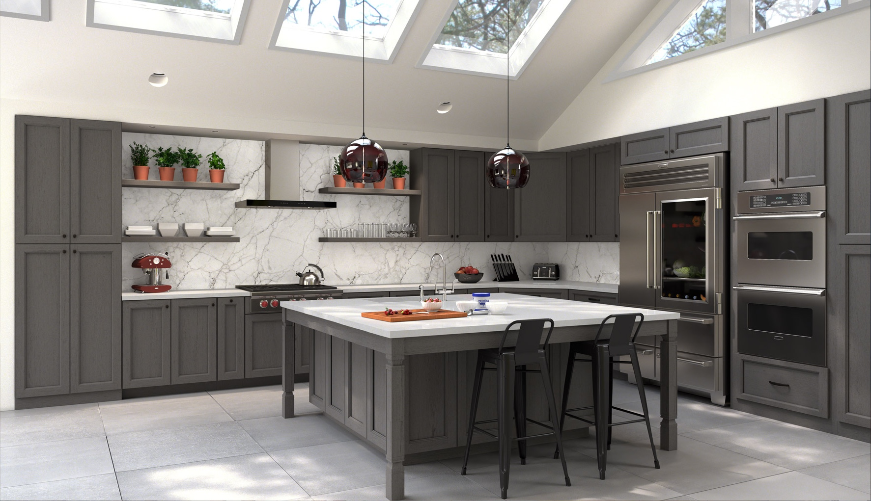 Exceptionnel Custom Kitchen Cabinetry In Akron, OH | Discount Custom Cabinets